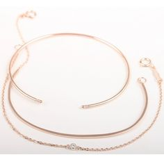 catbird-nyc:  Blush-worthy rose gold bracelet stack