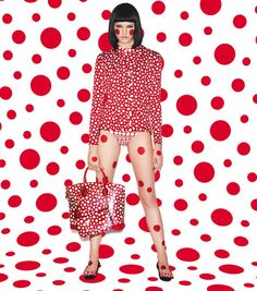 YAYOI KUSAMA FOR LOUIS VUITTON COLLECTION