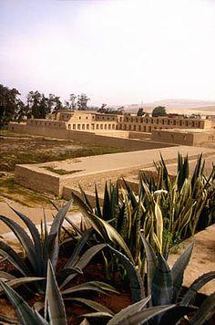 House of the Virgins of the Sun, Pachacamac, Peru c. 1500 AD.  Photo: Mylene d'Auriol Stoessel.