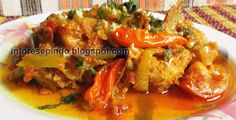 Ayam Goreng Sambal Pedas Saus Lemon - Resep Masakan Indonesia