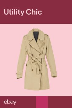 From Céline to Burberry, trench coats were a hit on the runway this season. Chic yet practical, the classic trench adds a utilitarian touch to casual looks. Meet your new season wardrobe hero by browsing thousands of must-have pieces on eBay.