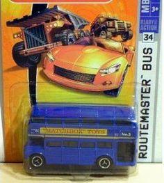 Mattel Matchbox 2007 MBX Metal 1:64 Scale Die Cast Car # 34 - Blue Machbox Toys No. 5 Double Decker Routemaster Bus by Mattel. $12.00. Mattel Matchbox 2007 MBX Metal 1:64 Scale Die Cast Car # 34 - Blue Machbox Toys No. 5 Double Decker Routemaster Bus