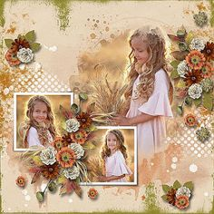 Copper Spice - Bundle by TraceyB Creations Deep by CarolW Designs photo Jevgenija Kozhevnikova use with permission Little Flowers, Poppies, Digital Art, Spices, Designers, Scrapbooking, Painting, Deep, Store