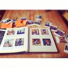 Using #Printic to create a beautiful album - #photobook #polaroid