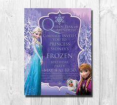 25+Printed+Frozen+Birthday+Invitation+by+AlexanderMasonDesign,+$30.00