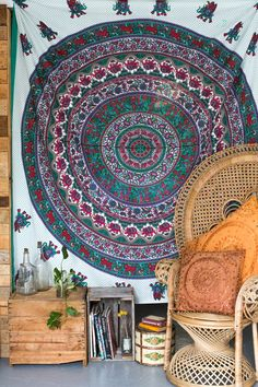 Tree of Life | Mandala Throw