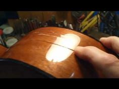 Cracked Acoustic Guitar Repair - Keith Holland - Tronnixx in Stock - http://www.amazon.com/dp/B015MQEF2K - http://audio.tronnixx.com/uncategorized/cracked-acoustic-guitar-repair-keith-holland/