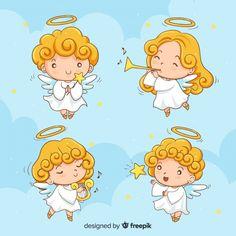 Christmas Angels, 57 лучшая графика из категории бесплатные Angel, Angels и Anjo на Freepik Angel Clipart, Angel Vector, Belly Painting, Dot Painting, Engel Illustration, Natal Design, Cute Christmas Backgrounds, Wings Sketch, Disney Diy Crafts