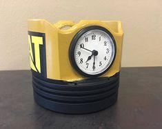 Caterpillar Piston Clock / Pen holder / Paper weight