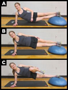 Core exercises for runners Top running coaches share their six favorite core-strengthening exercises. Sport, Bosu Workout, Plein Air, Excercise, Exercise Videos, Strength Training, Running Training, Get In Shape, Fitness Tips