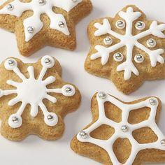 Snowflake Cookie Pan by crateandbarrel #Cookie_Pan #Snowflake