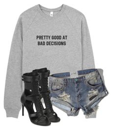 """""""Untitled #3391"""" by xirix ❤ liked on Polyvore featuring Abercrombie & Fitch and BOSS Black"""
