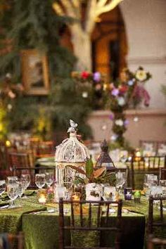 Enchanted Evening: Merryl Brown Events Dreams Up an Eco-chic Gala--- This event is SO AMAZING and magical!! I LOVE the costumes!!!