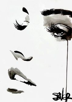 View LOUI JOVER's Artwork on Saatchi Art. Find art for sale at great prices from artists including Paintings, Photography, Sculpture, and Prints by Top Emerging Artists like LOUI JOVER. Inspiration Art, Art Inspo, Watercolor Portraits, Watercolor Art, Watercolor Sunflower, L'art Du Portrait, Abstract Canvas, Oil Painting On Canvas, Gouache Painting