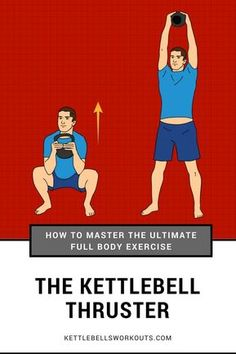 Master the Kettlebell Thruster the Ultimate Full Body Exercise With 3 Kettlebell Workouts.