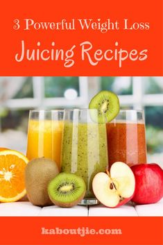 If you want to lose weight but still absorb essential nutrients and vitamins, then juicing is a great option. Here are some powerful weight loss juicing recipes that will help you to lose weight while still meeting your body's nutritional needs. Easy Juice Recipes, Juice Cleanse Recipes, Detox Diet Drinks, Detox Juice Cleanse, Detox Juices, Detox Recipes, Detox Smoothies, Smoothie Recipes, Veggie Juice