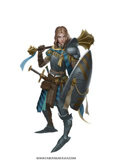 This is Erica,a character that might or might not show up in the campaign I'm running for my players, whose class, lvl and alignment are confidential right now ( you know, in case my players find my tumblr). And who knows, even if she does show up...