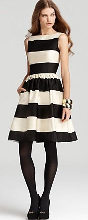 Striped Dress // Kate Spade