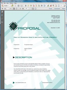1000 Images About Sample Business Opportunity Proposals