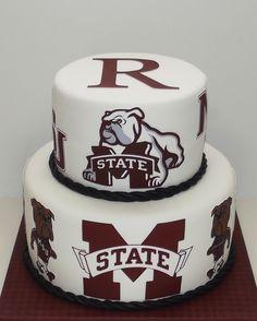 Mississippi State groom's cake.
