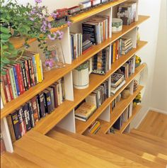 Use Storage in the Stairway - I've always thought this was a great idea!
