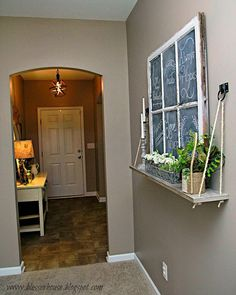 Hometalk :: DIY Window Ledge Rope Shelf