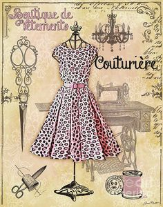 I uploaded new artwork to plout-gallery.artistwebsites.com! - 'French Dress Shop-A' - http://plout-gallery.artistwebsites.com/featured/french-dress-shop-a-jean-plout.html via @fineartamerica