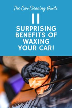 Waxing your car is an essential step to keeping your car clean. Many people don't know hy waxing is so important. Here are 11 benefits of waxing your car. Car Cleaning Hacks, Car Hacks, Cleaning Products, Automatic Car Wash, Buy Used Cars, Driving Tips, Clean Your Car, Car Buyer, Autos