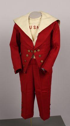 Boy's suit, A. Shuman Co., ca. 1895; ATHM 2005.175.59-A-D