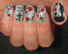 D.I.A.N.A.: *Lest We Forget* ANZAC Remembrance Day #nail #nails #nailart