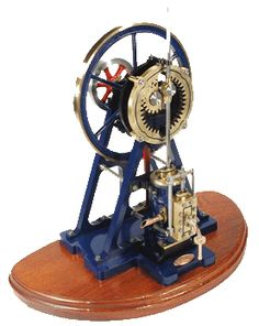 The Cyclops model steam engine is Cotswold Heritage Model Steam Engines interpretation of Murray's 1802 masterpiece; the 'Hypocycloidal Steam Engine'.