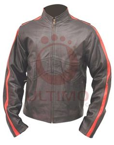 "Land of the Dead: Cholo DeMora Leather JacketThis jacket from the move ""Land of the Dead"" where it was worn by ""John Leguizamo"" is the apparel that will arrest the attention of every fellow around you. This is the jacket that will make your personality more charming and decent and will present it"