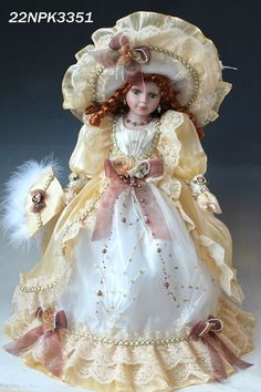 porcelain doll christmas