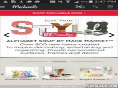 Michaels Stores  Android App - playslack.com ,  GET MORE SAVINGS View weekly ad for deals and check coupons for your local store.Scan coupons directly from app when checking out in store. BE INSPIRED Access hundreds of projects and products.Browse upcoming store events, including Saturday Kids' Club. FIND EVERYTHING YOU NEED Locate your nearest Michaels. Use the new product locator to find items in any Michaels store.Save your favorite ideas and products to your wish list.Michaels is the…