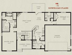 California bungalow bungalows and california on pinterest for Rembrandt homes floor plans