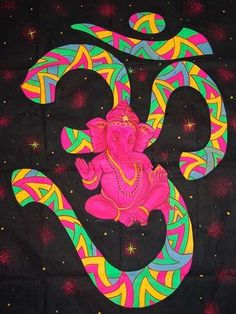 ☯☮ॐ Ganesh Elephant Psychedelic Art, Art Visionnaire, Psy Art, Hippie Art, Arte Pop, Visionary Art, Sacred Geometry, Deities, Trippy