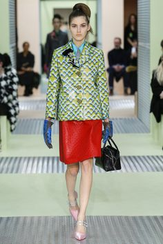 Prada Milan Fashion Week Fall/Winter 2015