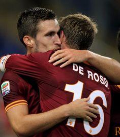 2013/14 Roma-Livorno Kevin Strootman, Daniele De Rossi