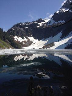 Lake Serere, Snohomish County, Washington — by Bryan Hildebrand. Amazing hike off of highway 2 just outside of Gold Bar, WA.