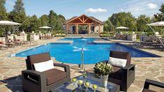 Inspirations déco: Piscines extérieures | CHEZ SOI TVA Publications | © Photo: Yves Lefebvre #deco #exterieur #piscine #terrasse