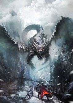 Find images and videos about art, fantasy and dragon on We Heart It - the app to get lost in what you love. Mythological Creatures, Fantasy Creatures, Mythical Creatures, Fantasy World, Dark Fantasy, Dragon Medieval, Cool Dragons, Dragon Artwork, Dragon Pictures