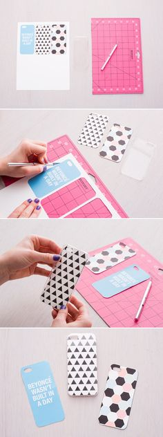 DIY a new iPhone case with these free printables. Mehr