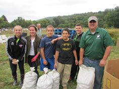 Seton Students & Faculty Harvest Potatoes for Area Food Banks - On Saturday September 20,2014 over 60 Seton Catholic Central students and faculty volunteered to pick potatoes at a field in the Town of Union. The harvested potatoes went to food pantries hosted by CHOW and the Food Bank of the Southern Tier. Food Bank, Pantries, Banks, Harvest, Catholic, September, Southern, Students, Potatoes
