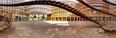 The World: Olafur Eliasson's Courtyard Stairway Panoramic Photography, Olafur Eliasson, Stairways, Archive, World, Blog, Decor, Stairs, Staircases