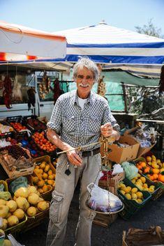 Fruit stall on the Amalfi Coast Italy