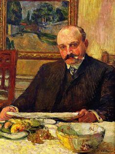 Jos Hessel-1905 by Edouard Vuillard