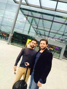 Shahid Afridi & Ahmed Shahzad <3
