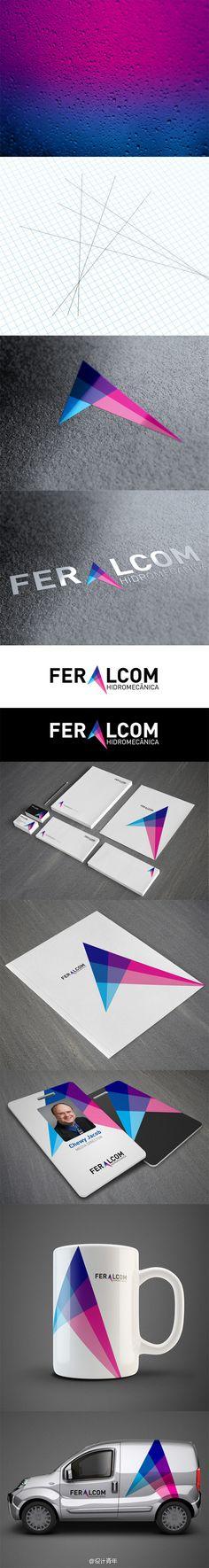 Feralcom品牌VI设计