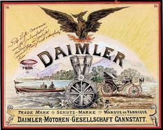 """1899: Daimler protected as trademark --- DMG files the name """"Daimler"""" at the Imperial Patent Office. It becomes a registered trademark on 4 December."""