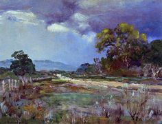 Julian Onderdonk ~ Impressionist painter..Cool colour harmony